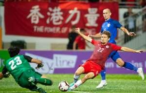 Hong Kong vs Thailand.