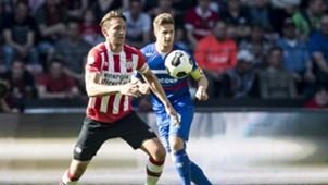 Luuk de Jong, PSV - Willem II, Eredivisie, 09042017