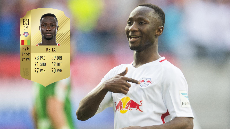 Naby Keita FIFA 18 ratings