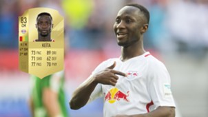 Naby Keita FIFA 18 ratings