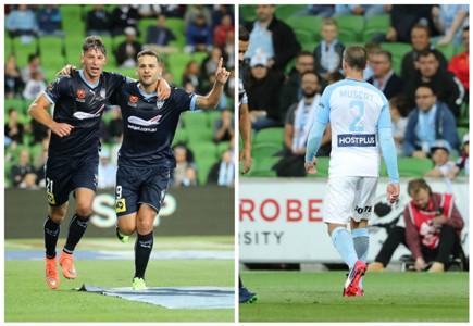 Filip Holosko Bobo Manny Muscat Melbourne City v Sydney FC A-League 24022017