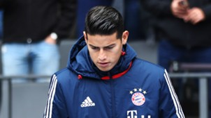 James Rodríguez Bayern Munich