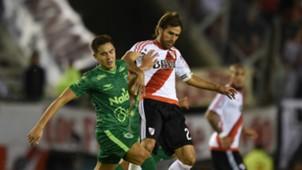 Leonardo Ponzio Lucas Perez Godoy River Plate Sarmiento Primera Divsion Argentina 23042017