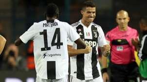 Ronaldo celeb Empoli-Juve
