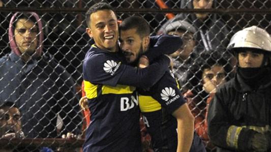 Leonardo Jara Dario Benedetto Boca Juniors Huracan Primera Division 27052017