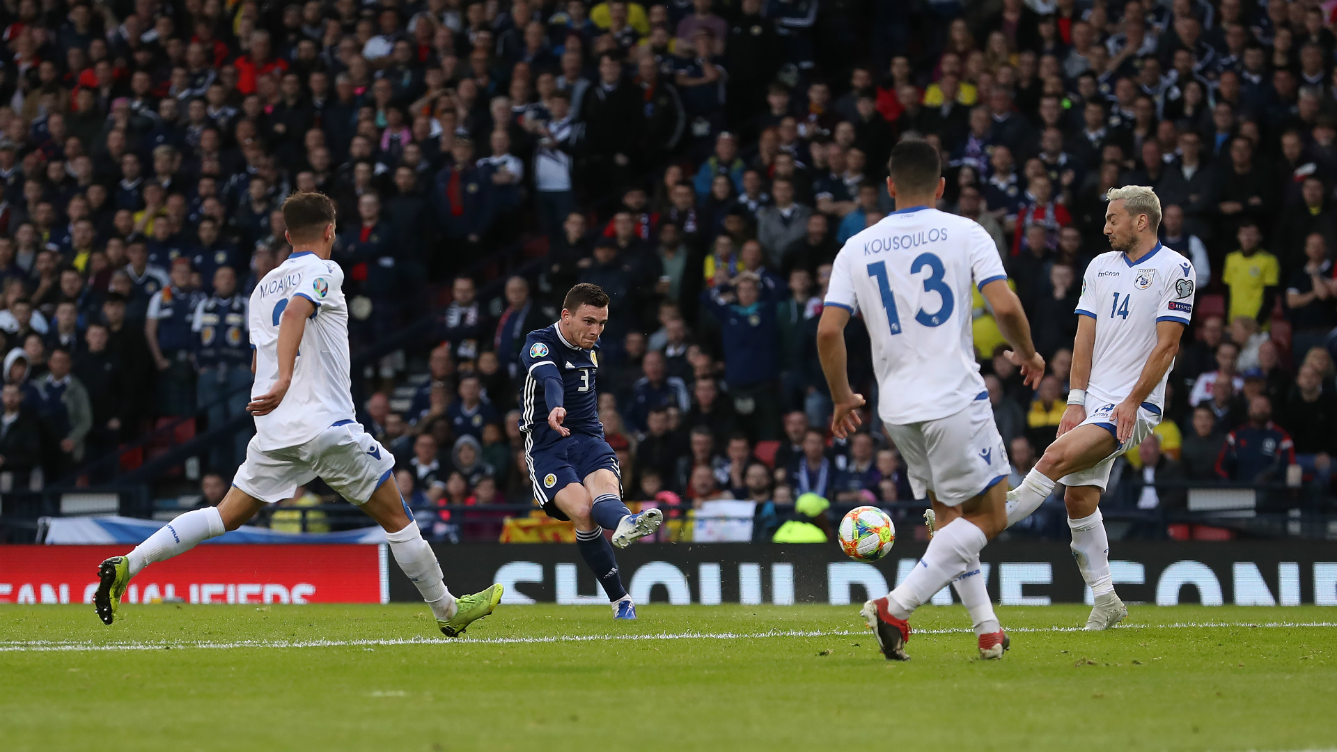 Andy Robertson Scotland Euro 2020 qualifying