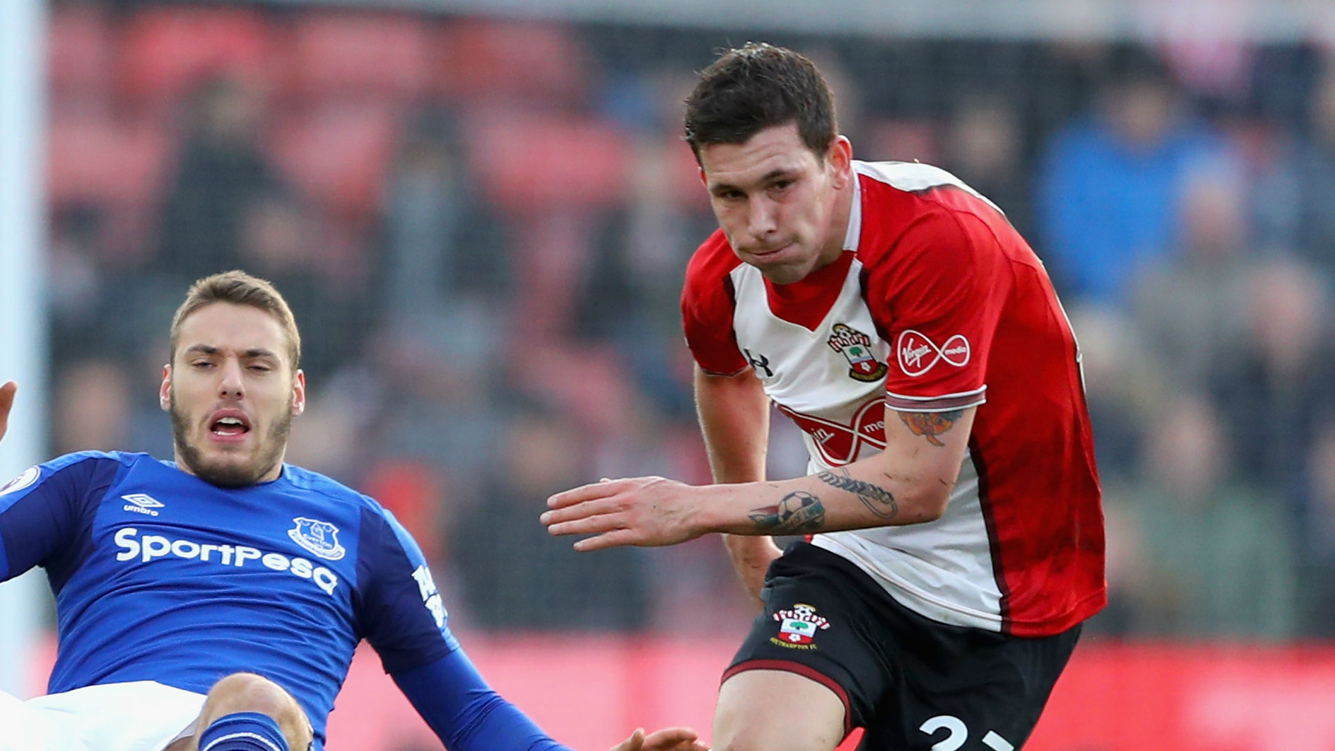Pierre-Emile Hojbjerg Southampton Everton