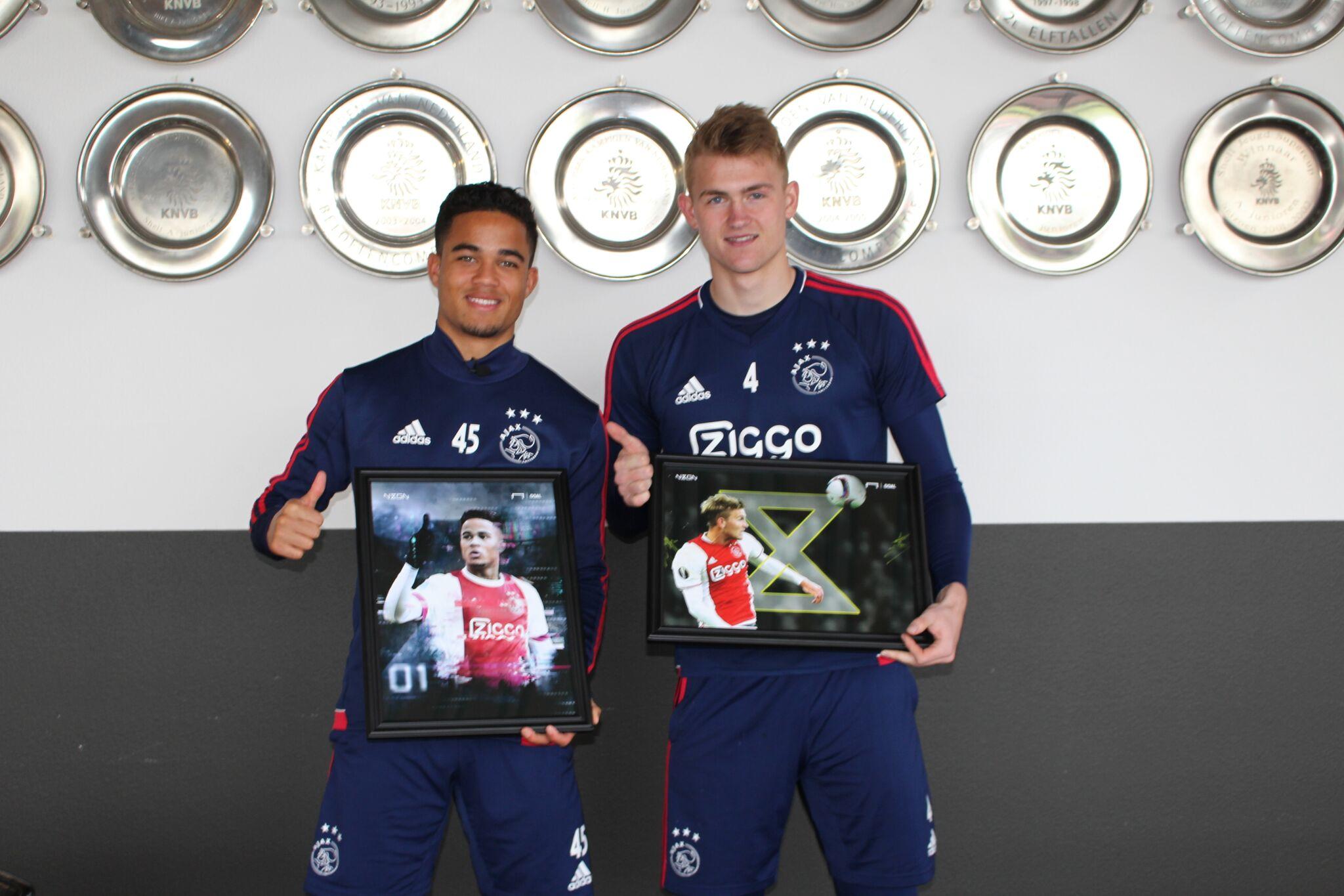 Kluivert and De Ligt