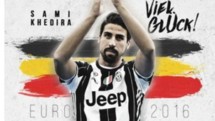 Juventus Tweet for Khedira