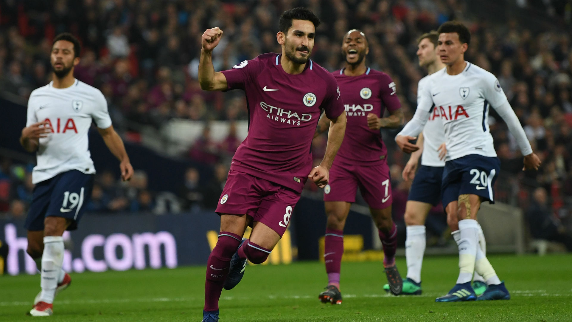 Ilkay Gundogan Manchester City Tottenham Premier League