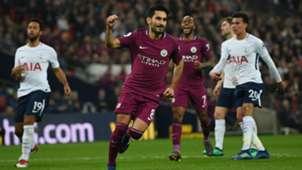 Ilkay Gundogan Manchester City Tottenham Premier League