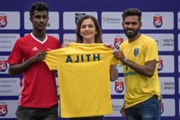 Ambani RFYS CK Vineeth Kerala Blasters Ajith Sivan
