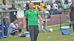 Congo coach Sebastien Migne