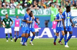 Javairo Dilrosun VfL Wolfsburg Hertha BSC Bundesliga 15092018