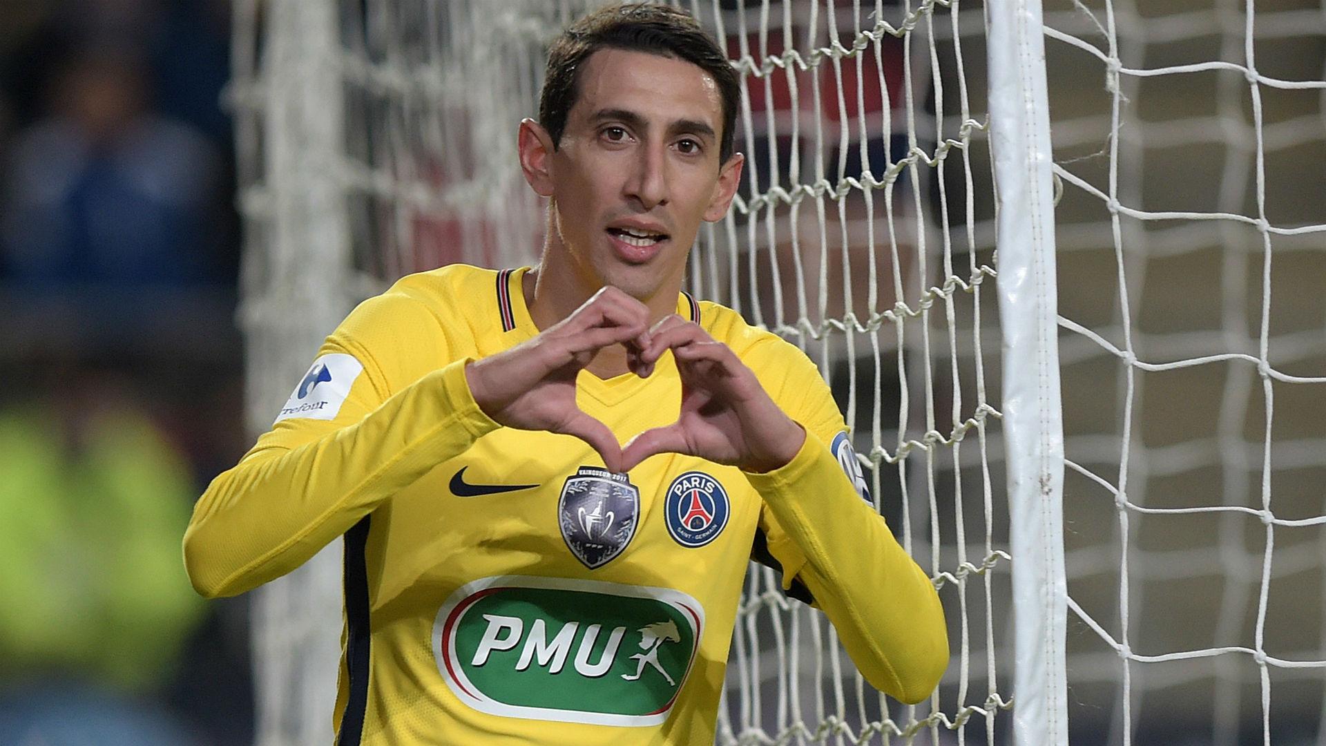 Angel Di Maria Rennes PSG Coupe de France 07012018