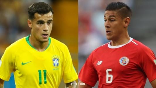 ブラジル対コスタリカの試合日程...