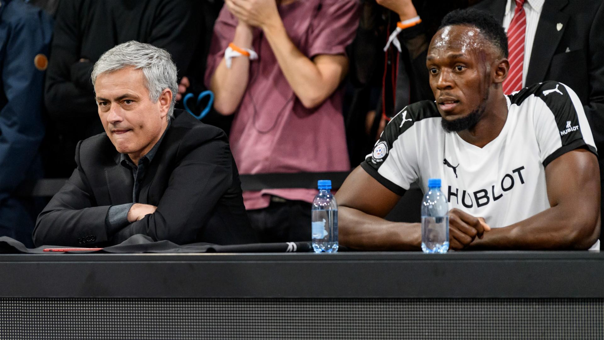 Usain Bolt Jose Mourinho