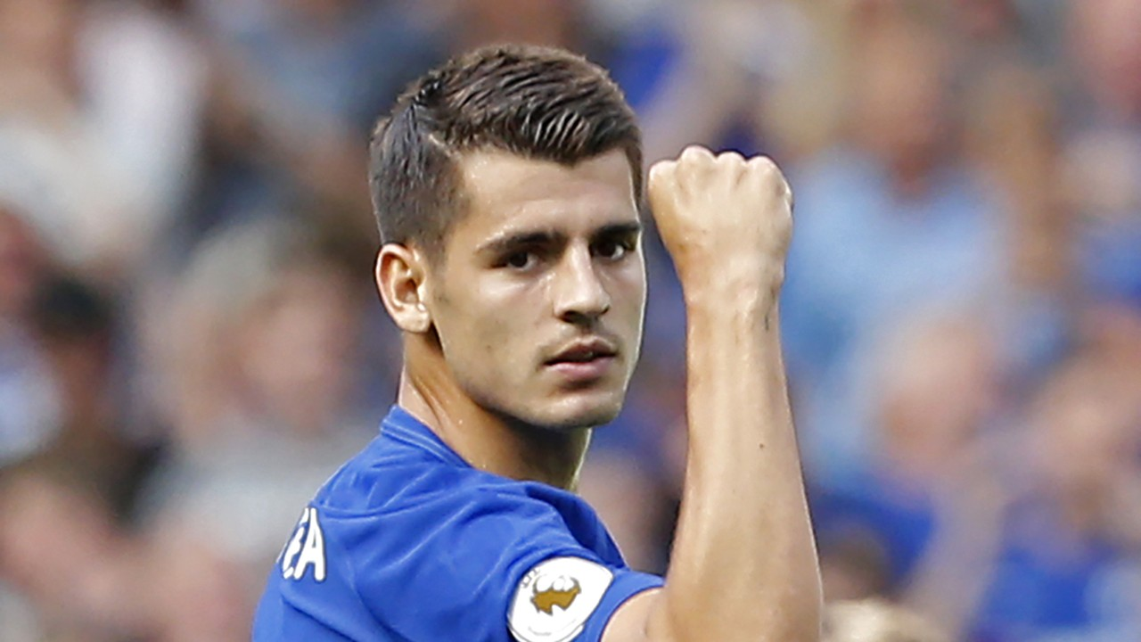 Alvaro Morata Chelsea suffered to her at Tottenham