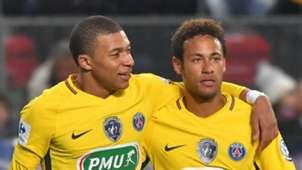 Kylian Mbappe Neymar Paris Saint-Germain