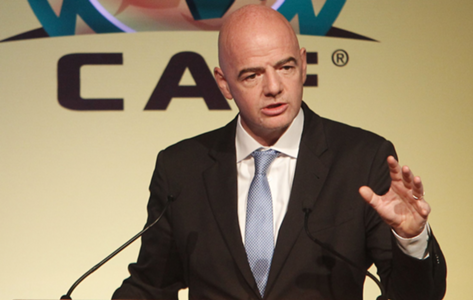 "Gianni Infantino - Caf ""General Assembly"" morocco"