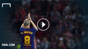 GFX Andres Iniesta FC Barcelona