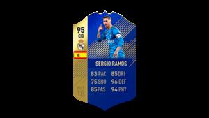 FIFA 18 Ultimate Team of the Season Sergio Ramos