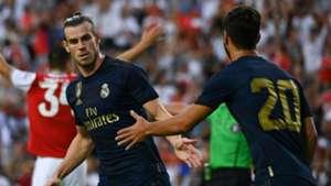Gareth Bale Marco Asensio Real Madrid Arsenal ICC 2019