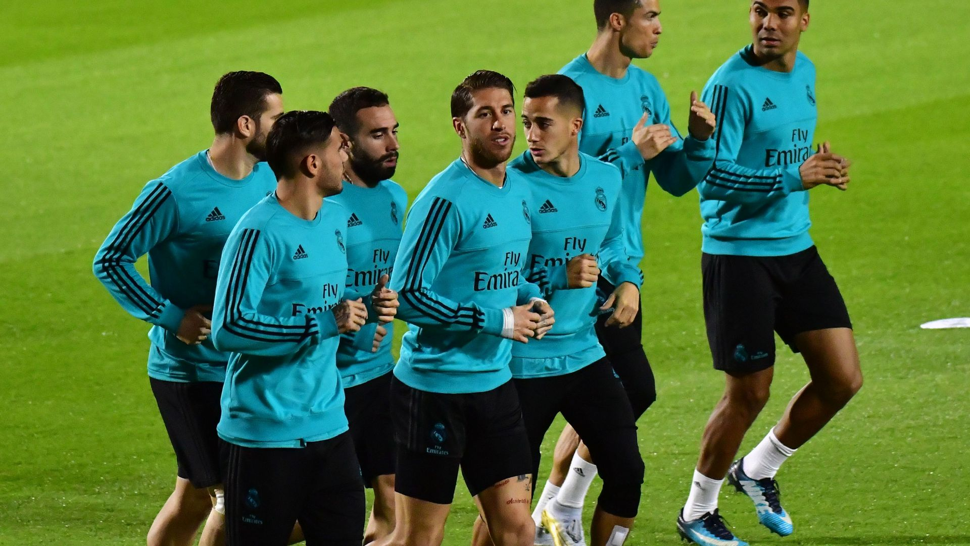 Sergio Ramos Real Madrid Club World Cup training 11122017