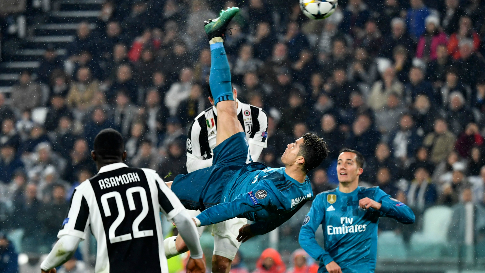 Cristiano Ronaldo Juventus Real Madrid Champions League
