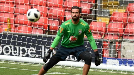 Alisson at Anfield
