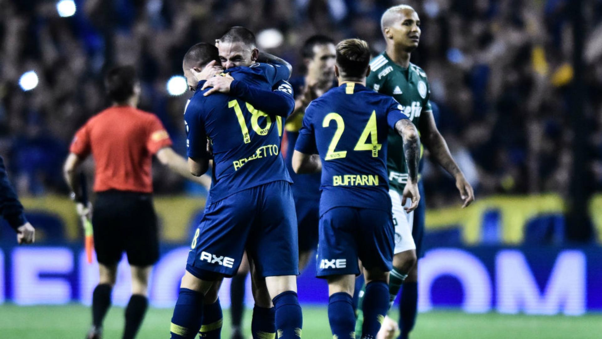 Boca Juniors Palmeiras 24102018