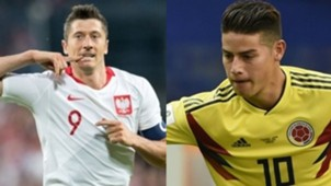 robert-lewandowski-poland James_Rodriguez_Columbia