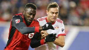 Jozy Altidore Aaron Long Toronto FC New York Red Bulls