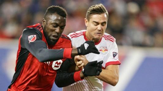 Jozy Altidore Aaron Long Toronto FC New York Red Bulls