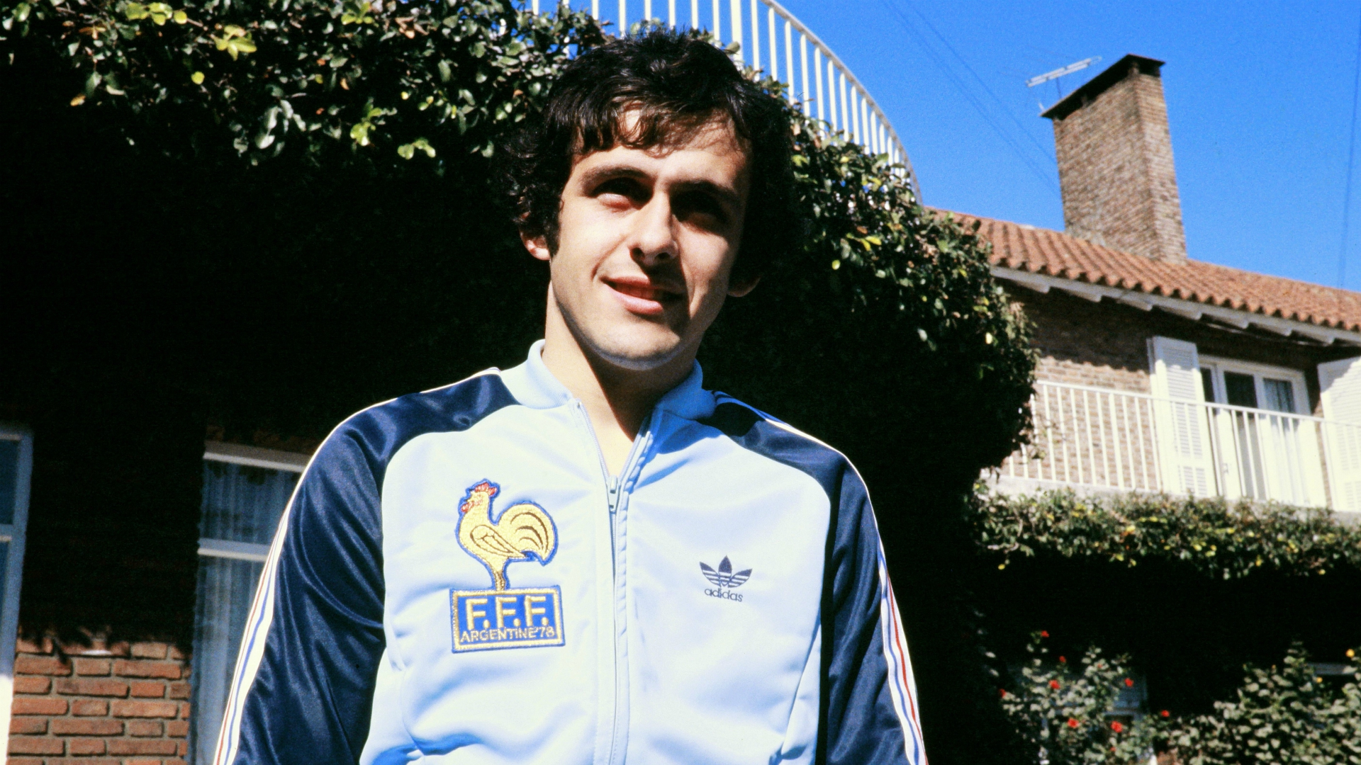 Michel Platini France 1978