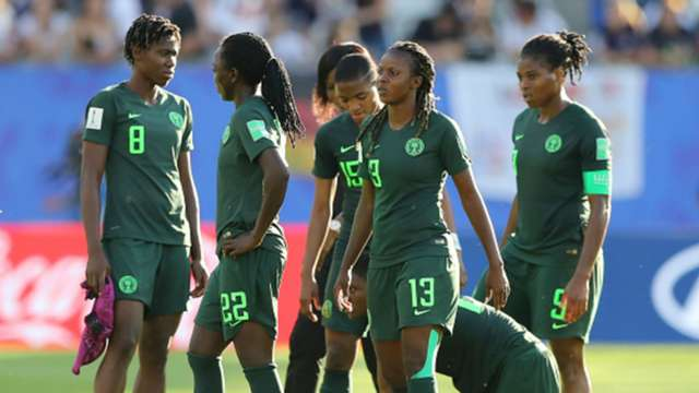 Image result for Women W/Cup: Super Falcons out, crash 3-0 to Germany