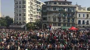 Algérie - La parade des champions d'Afrique dans les rues d'Alger en photos