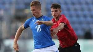 Luca Vido Italy Albania Under 21