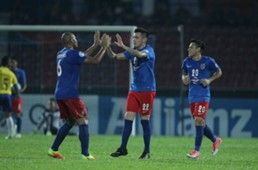 Johor Darul Ta'zim celebrate; Gabriel Guerra