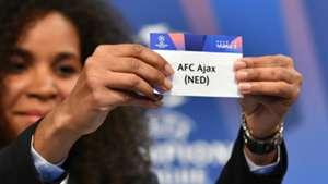Ajax UCL draw 12172018