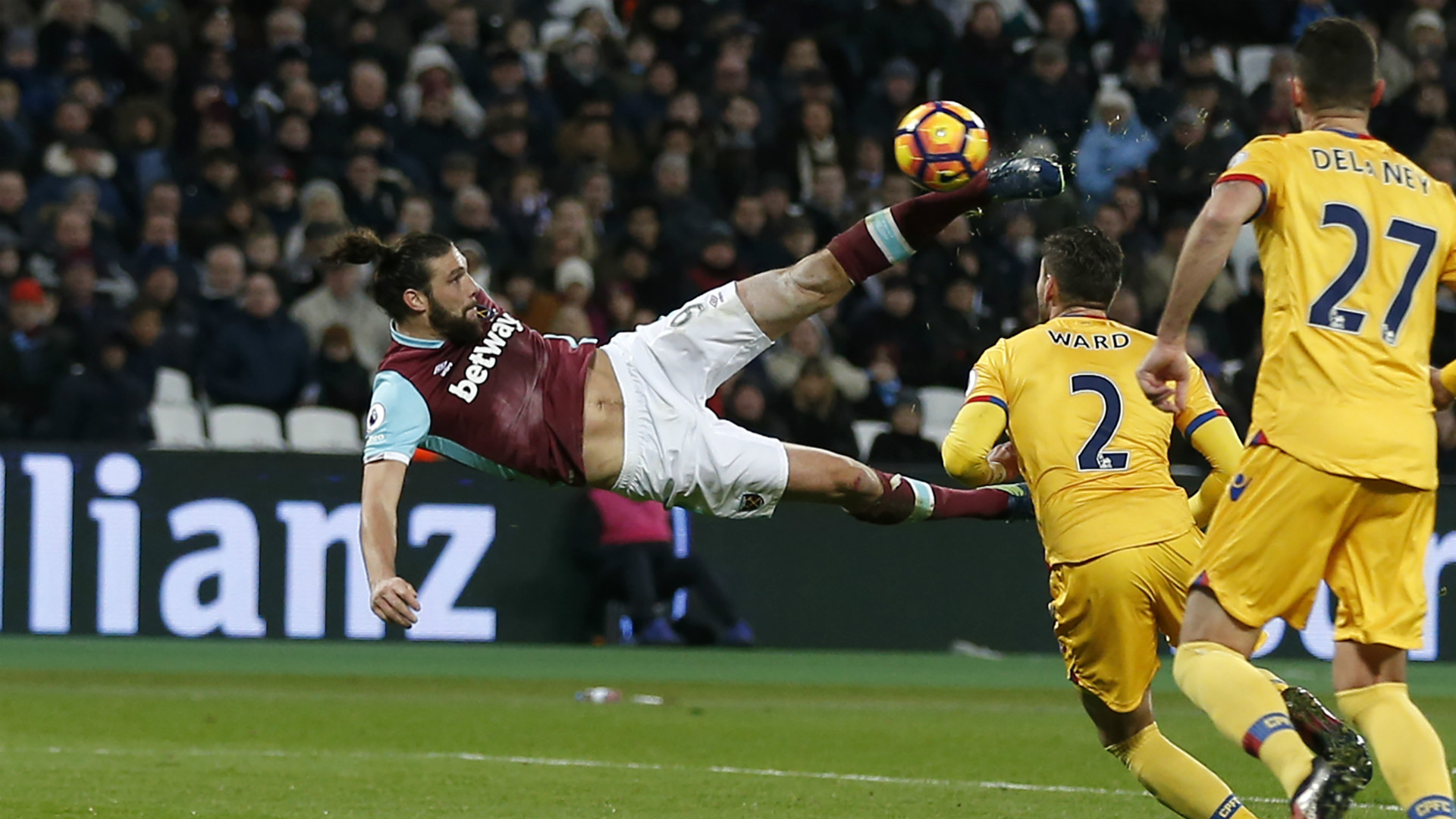 HD Andy Carroll West Ham