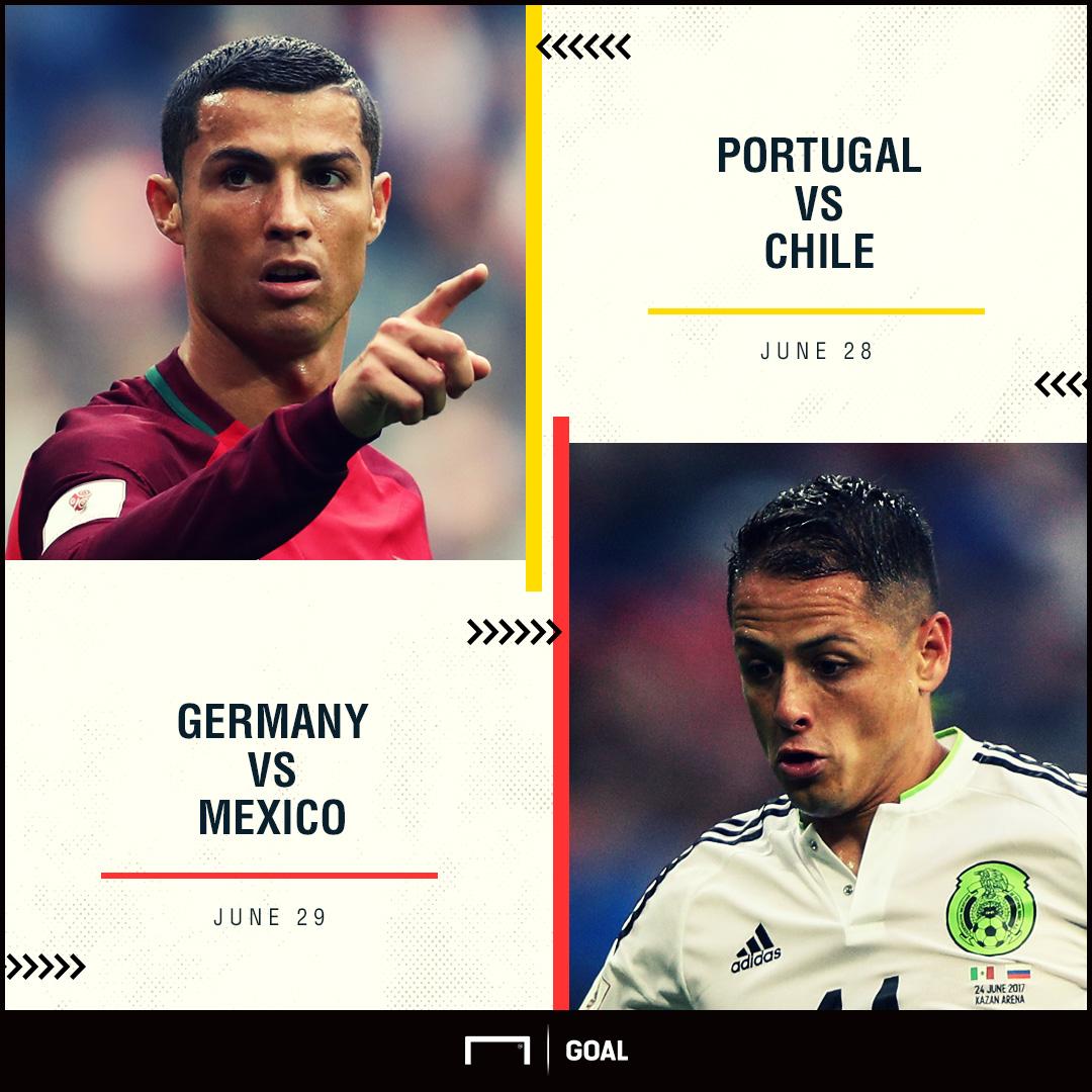 GFX Confederations Cup matchups times