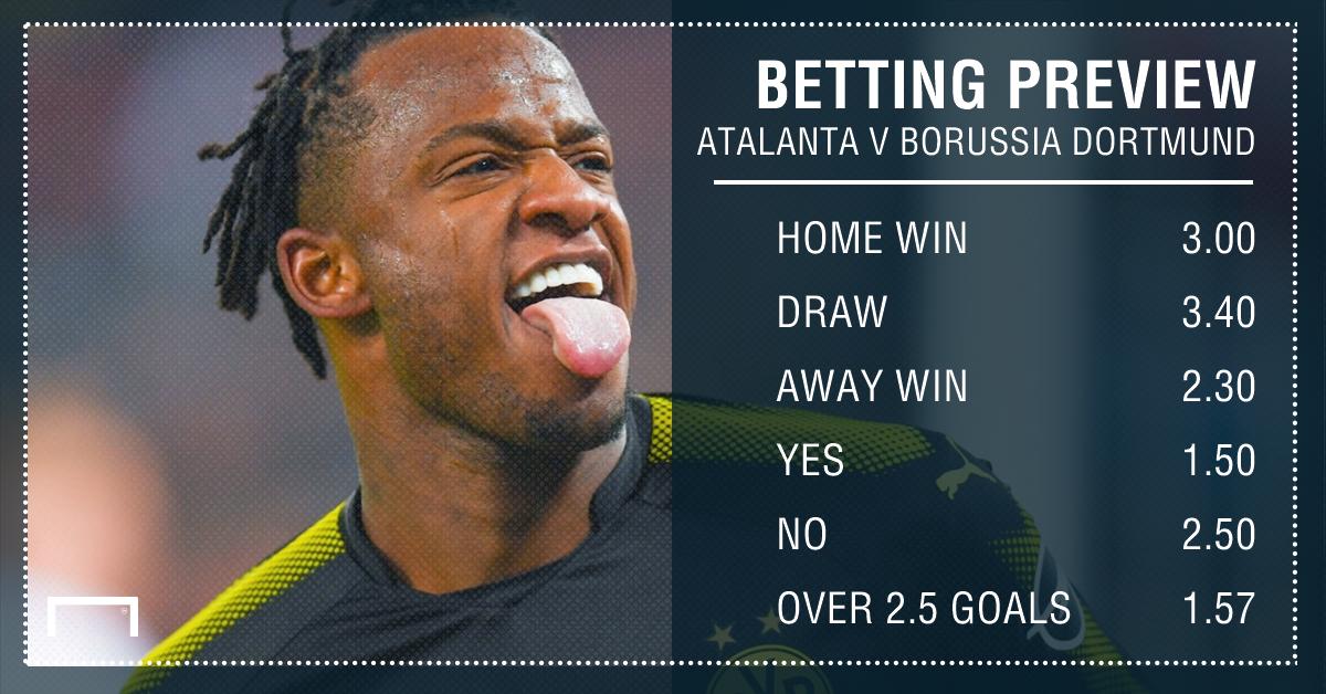 Atalanta v Borussia Dortmund