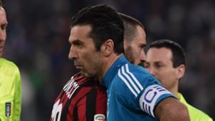 Buffon Bonucci Juventus Milan