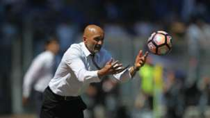 Luciano Spalletti Roma Lazio Serie A 04302017