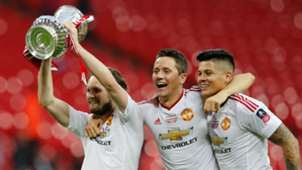 Daley Blind Ander Herrera Marcos Rojo Manchester United FA Cup 2016