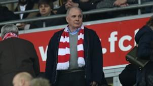 Uli Hoeness Bayern Munich v Bayer Leverkusen Bundesliga 26112016