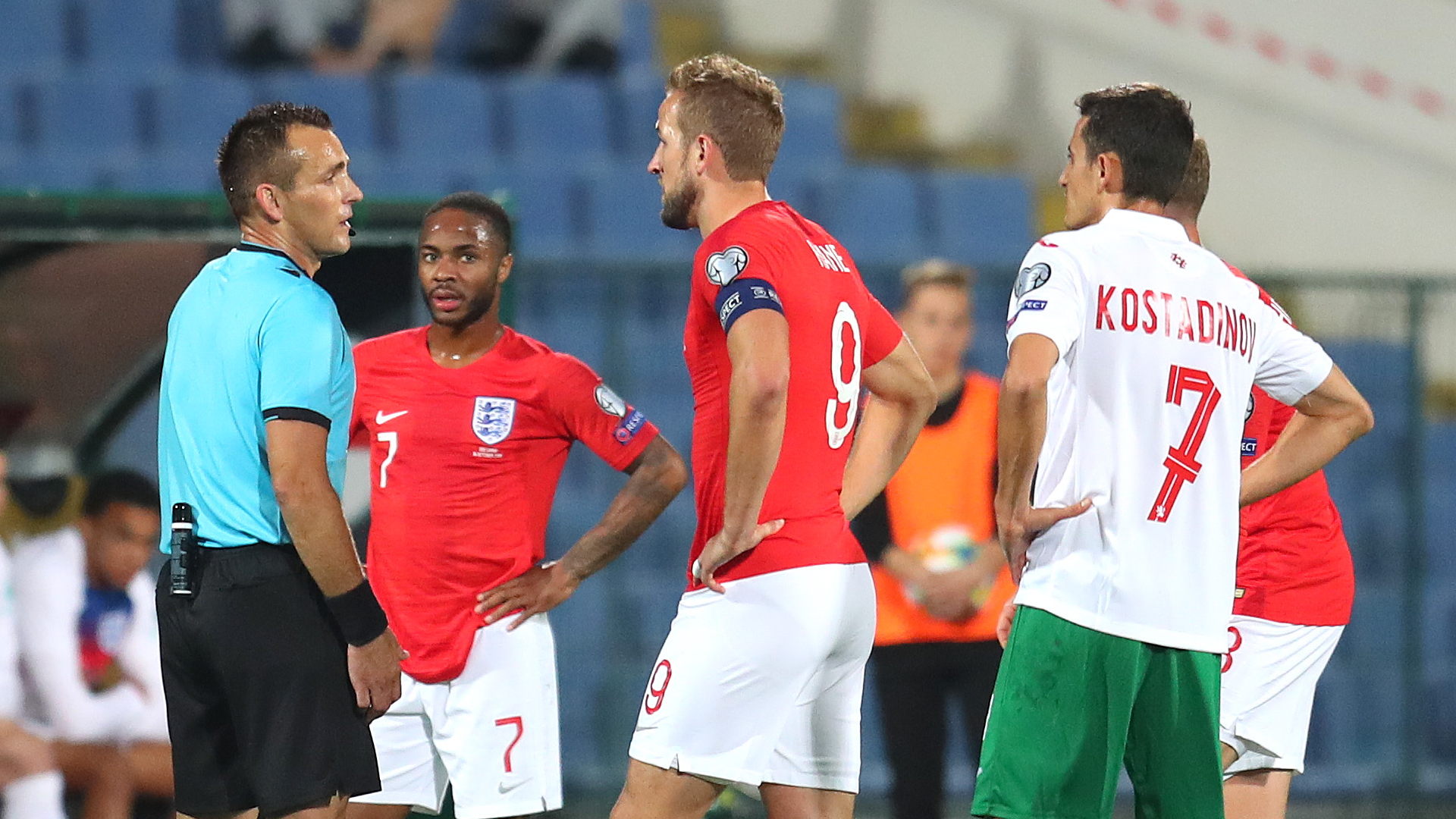 Bulgaria charged by UEFA over racist chanting in Euro qualifier against England
