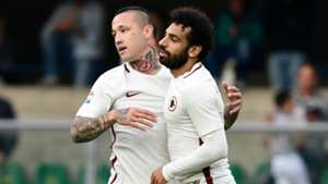 Salah Nainggolan Roma Serie A