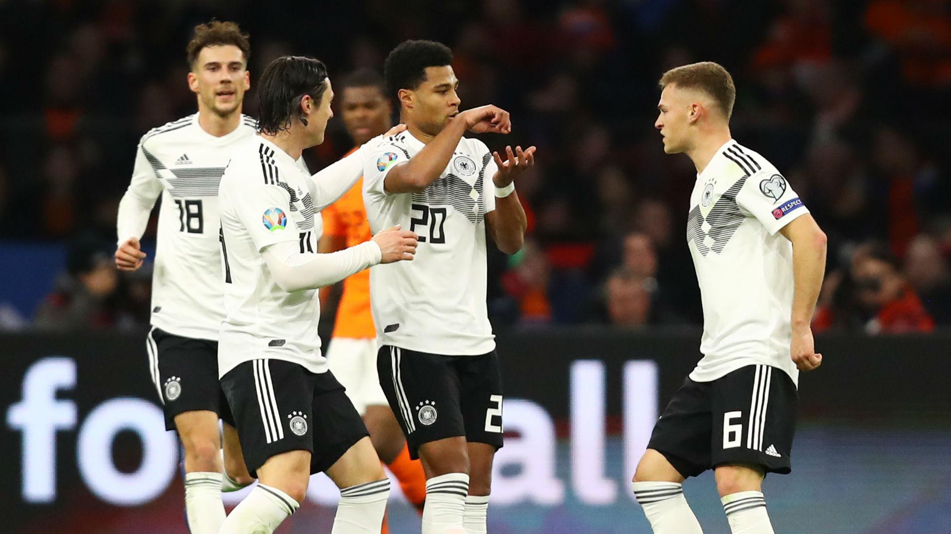 Aufstellung Deutschland Niederlande